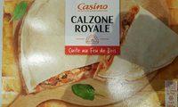 Pizza calzone Royale cuite au feu de bois - Product - fr