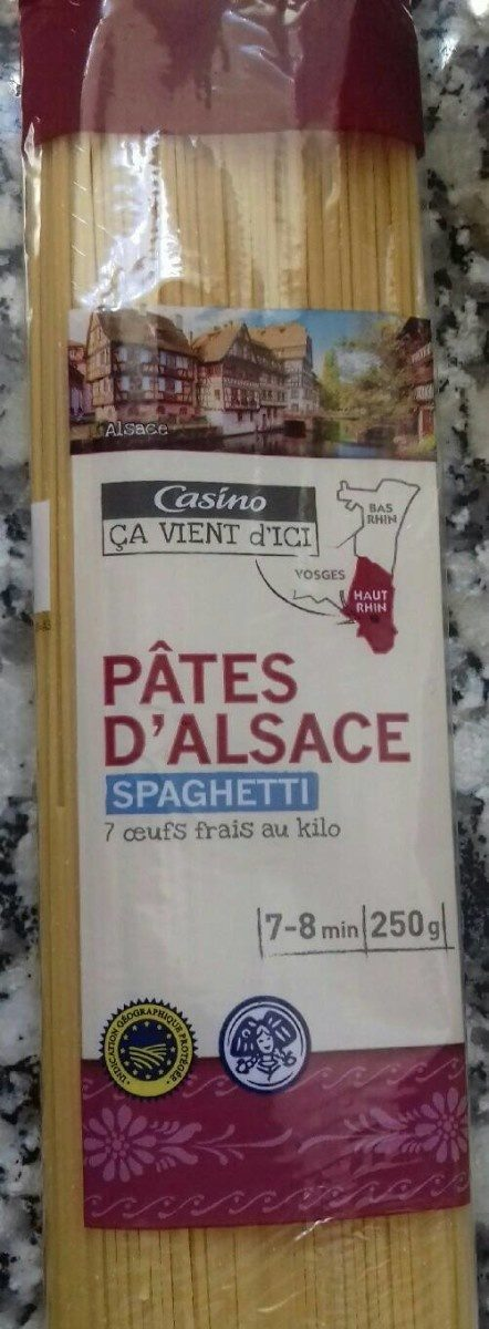 Spaghettis aux 7 oeufs - Produit - fr