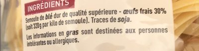 Petits nids aux 7 oeufs - Ingrediënten - fr