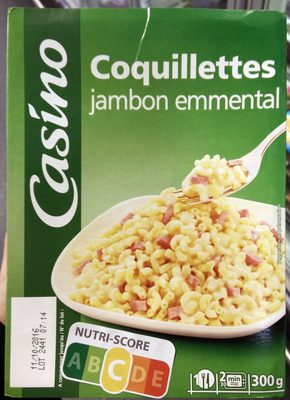 Coquillettes jambon emmental - Product - fr