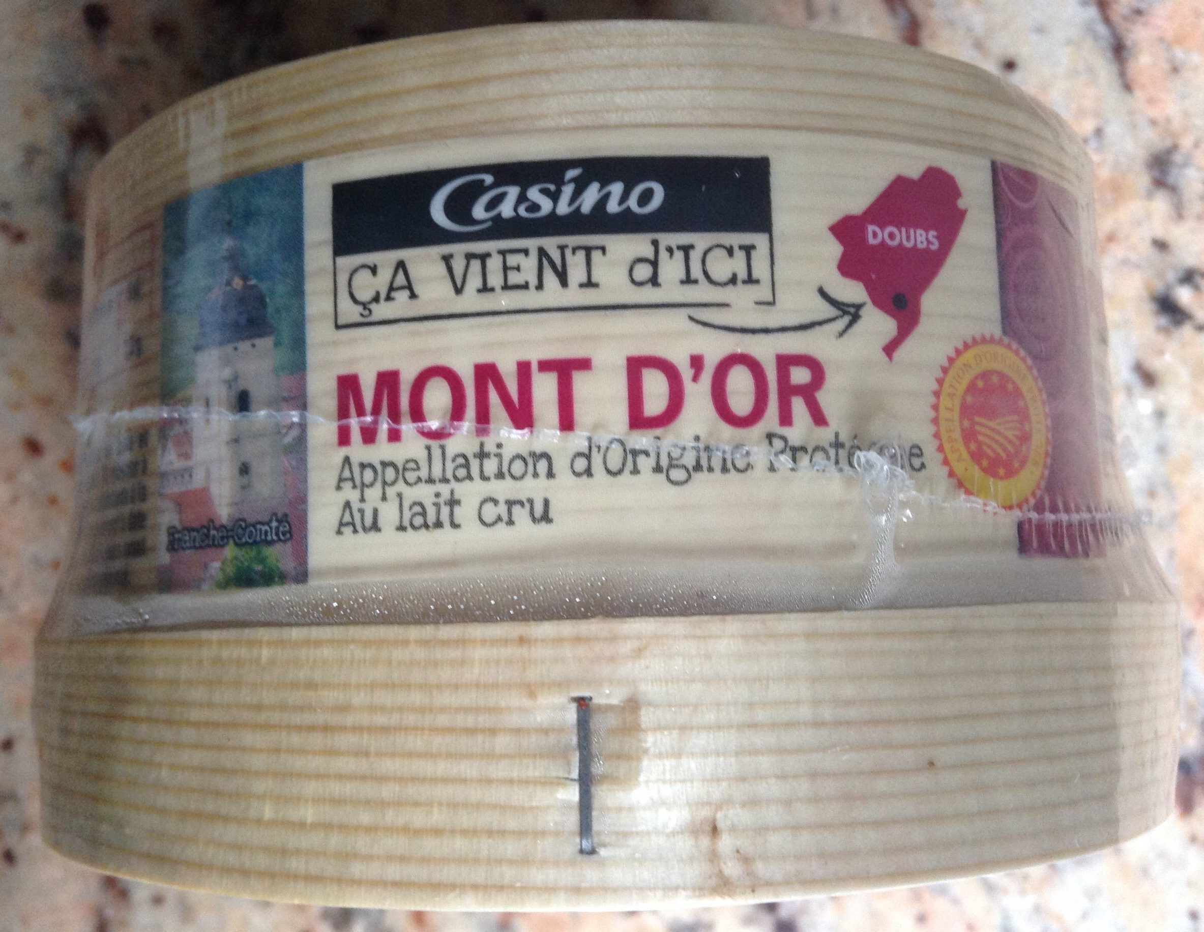 Mont d'Or Appellation d'Origine Protégée au lait cru - Product