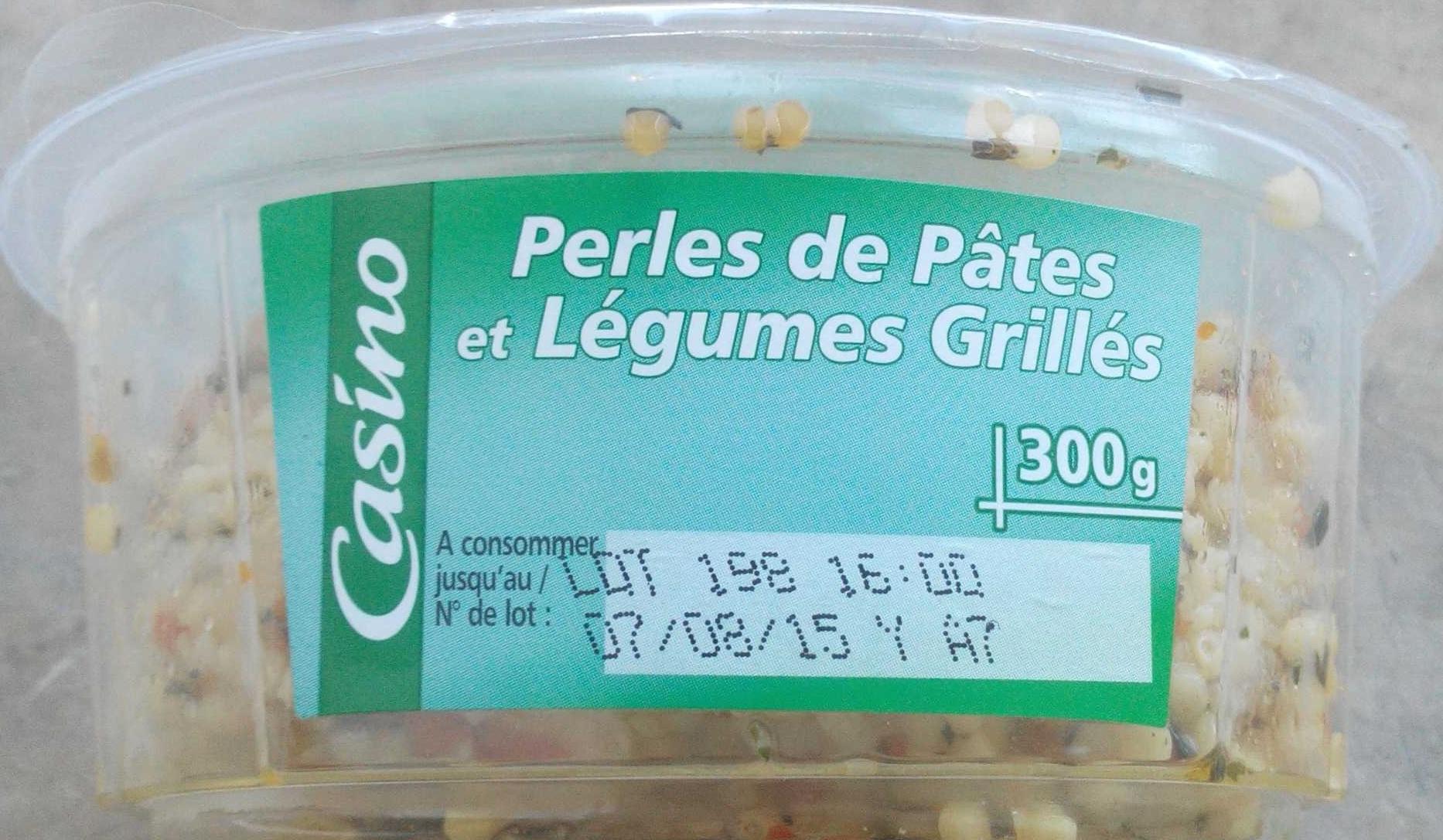 Perles de pâtes et légumes grillés - Produit - fr