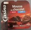 Mousse au chocolat, Noir et Lait - Product