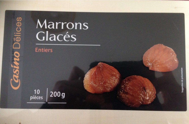 10 Marrons Glacés premium 200g Casino Delices - Product - fr
