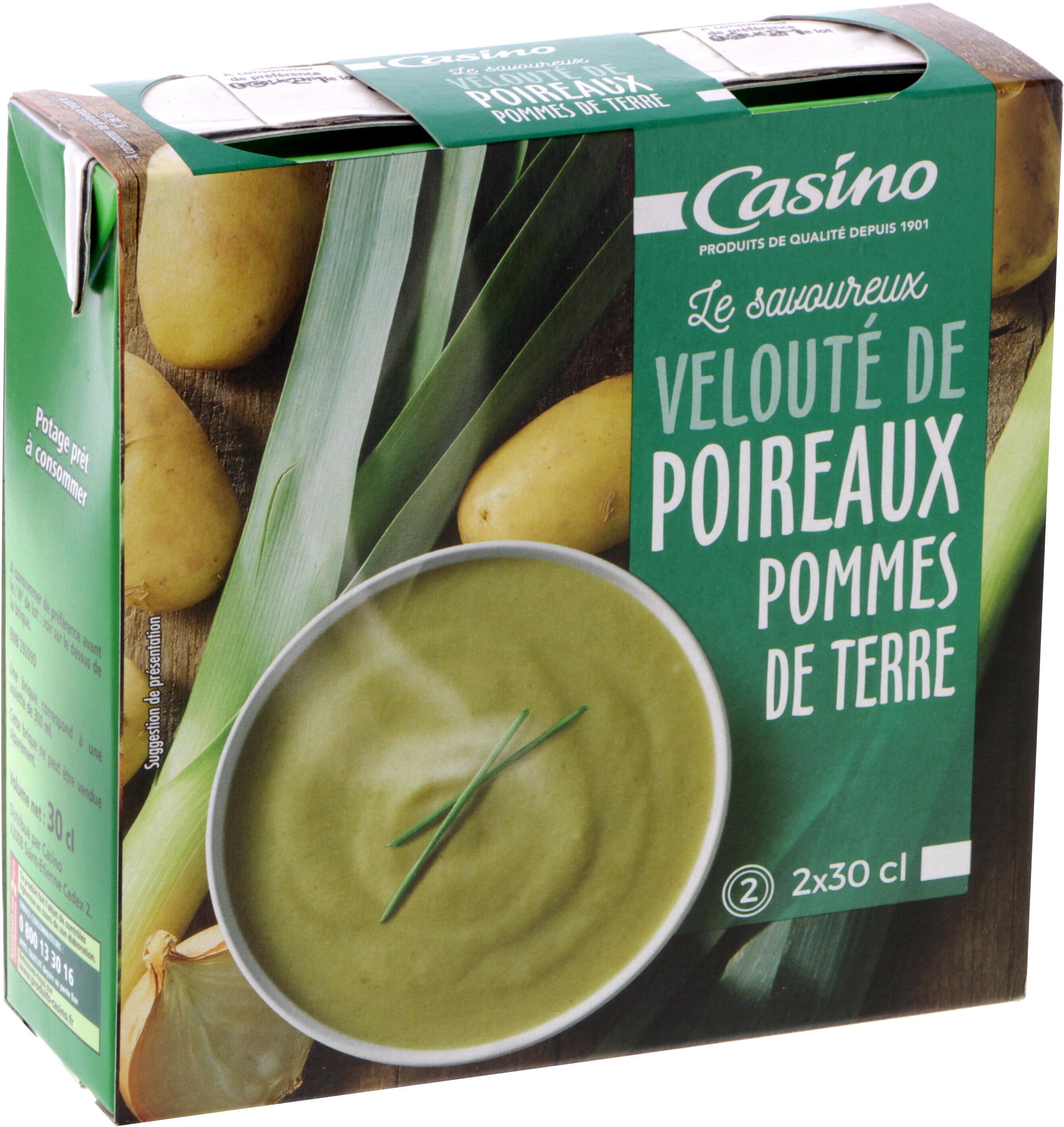 Velouté poireaux pommes de terre - Product