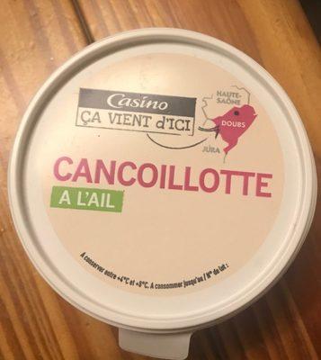 Cancoillotte à l'ail - Produit