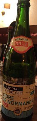Cidre bouché brut de Normandie 4.5% vol. - Prodotto - fr