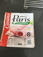 Jambon de Paris découenne dégraissé - Product