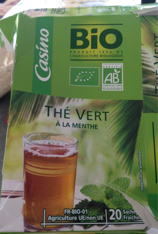 Thé vert à la Menthe - Produit - fr