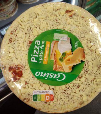 Pizza à pâte fine 4 fromages - Produit