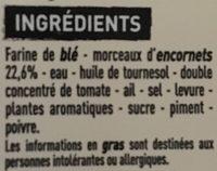 2 Tielles sétoises - Ingrediënten - fr