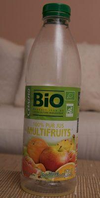 Multifruits Bio 100% Pur Jus - Produit