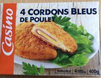 Cordons bleus de poulet (100% filet) - Produit - fr