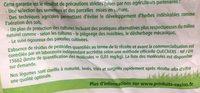 Haricots plats coupés - Ingredients - fr