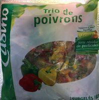 Trio de poivrons Agriplus - Product - fr