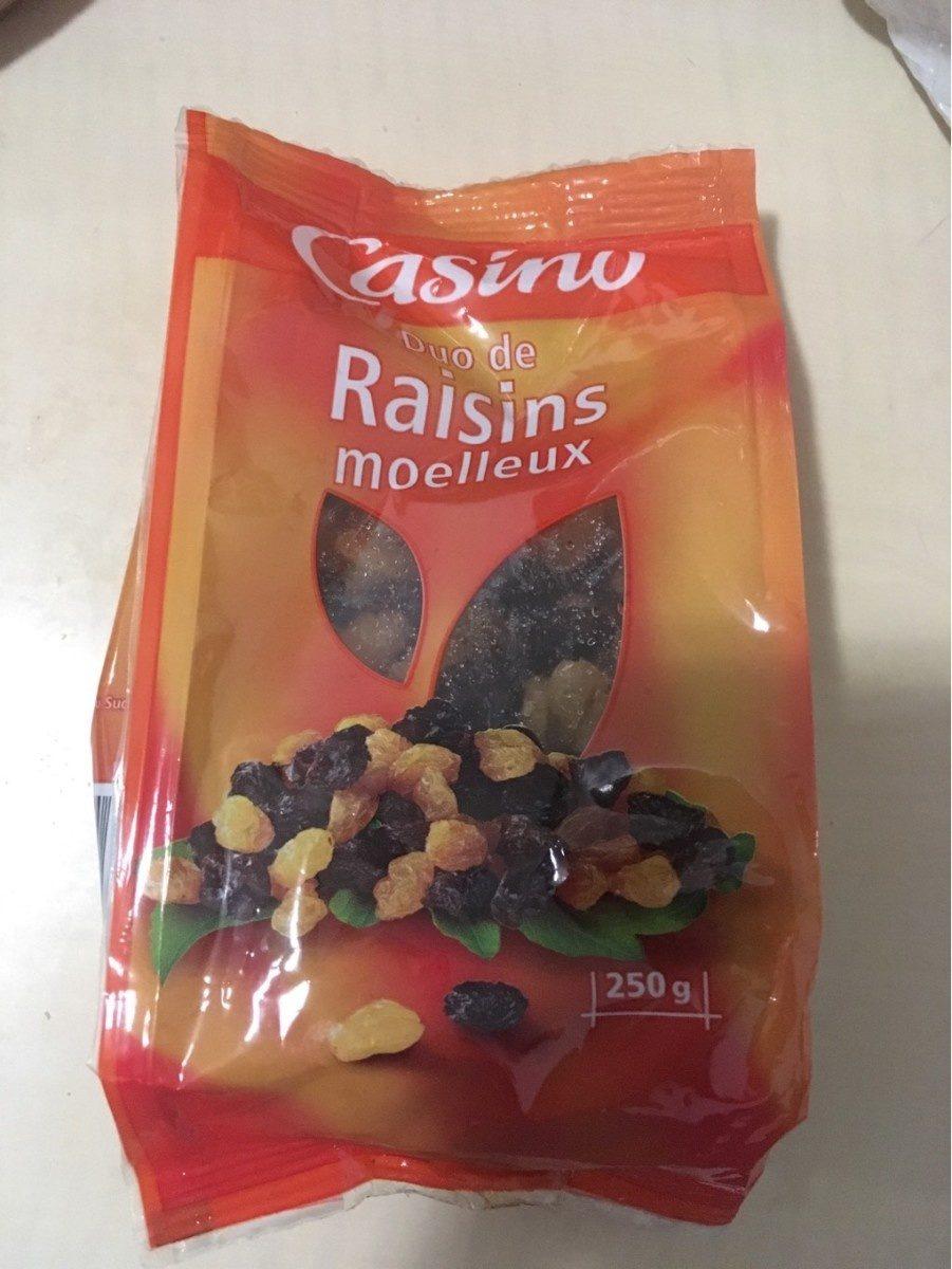 Duo de Raisins Secs Moelleux - Produit