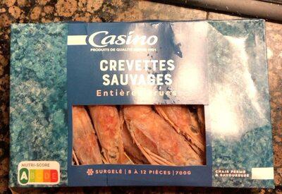 Crevettes entières crues 8/12 - Product