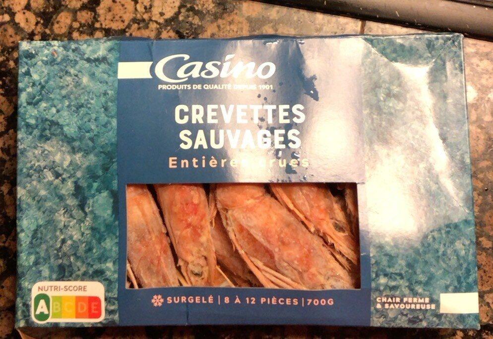 Crevettes entières crues 8/12 - Product - fr