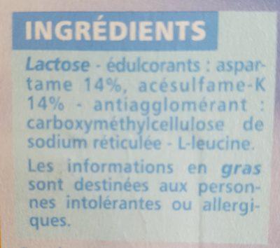 Edulcorant de table 300 comprimés - Ingrédients - fr
