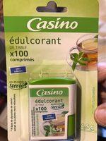 Edulcorant de table avec des extraits de stevia100 comprimés - Produit