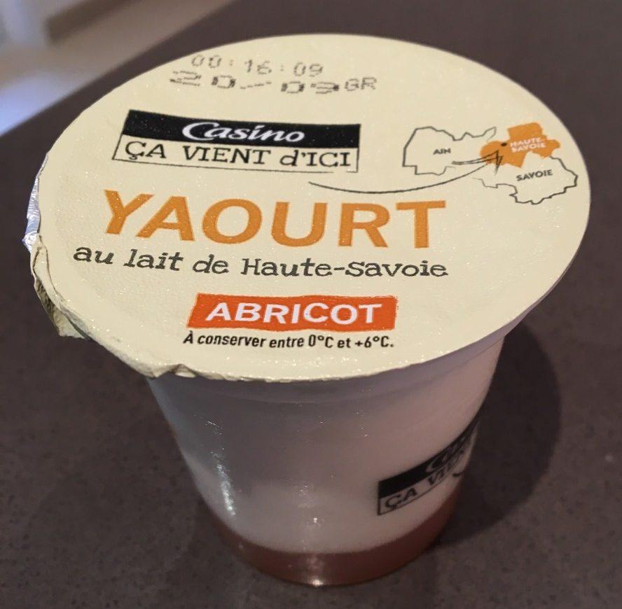 Yaourt au lait de Haute-Savoie - 2 pêche / 2 abricot - Product - fr