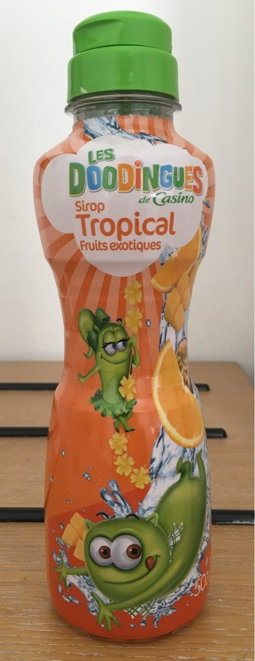 Sirop tropical - Product - fr