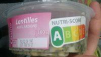 Lentilles aux Lardons - Produit