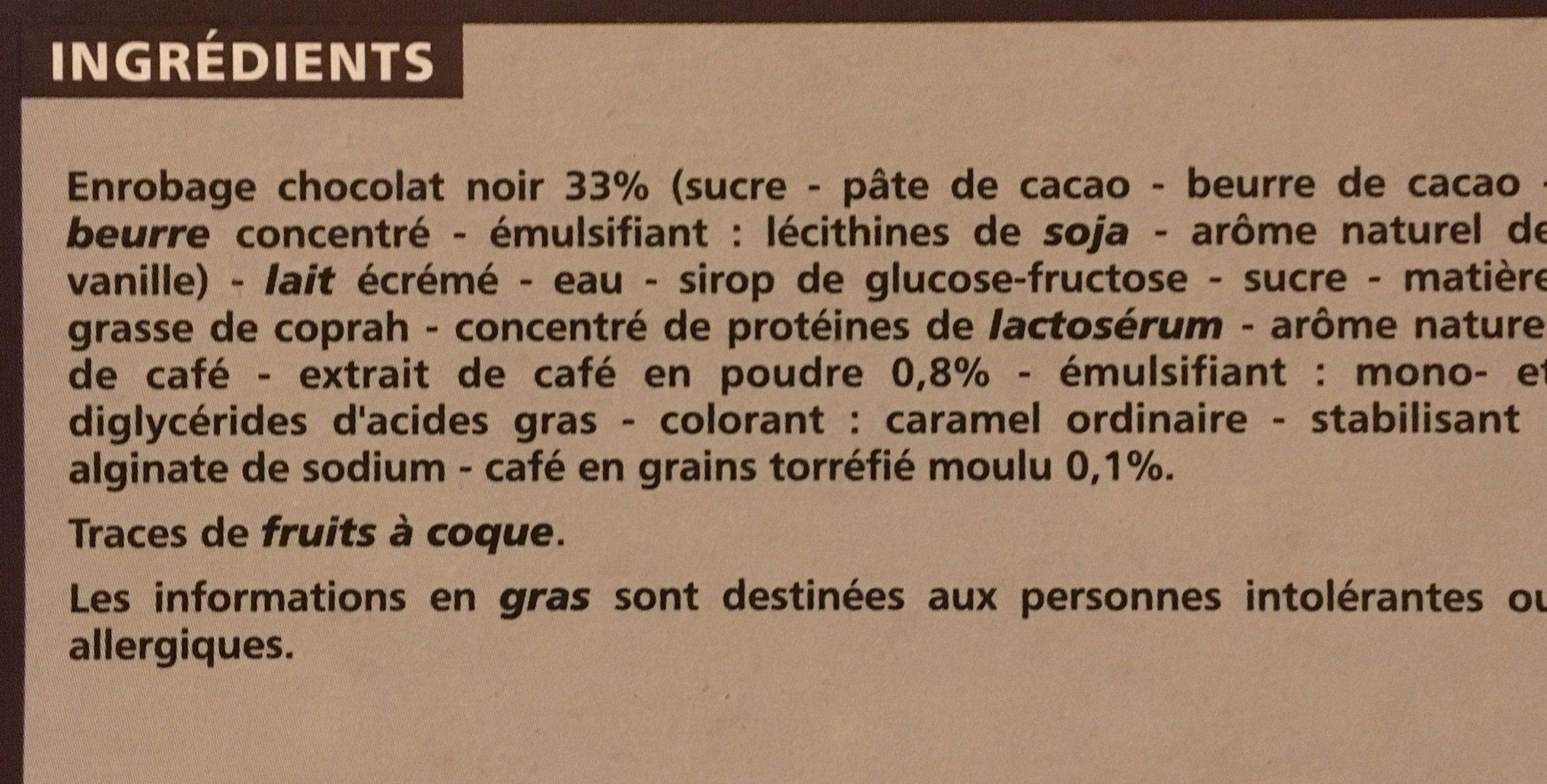 Expresso - Ingredients