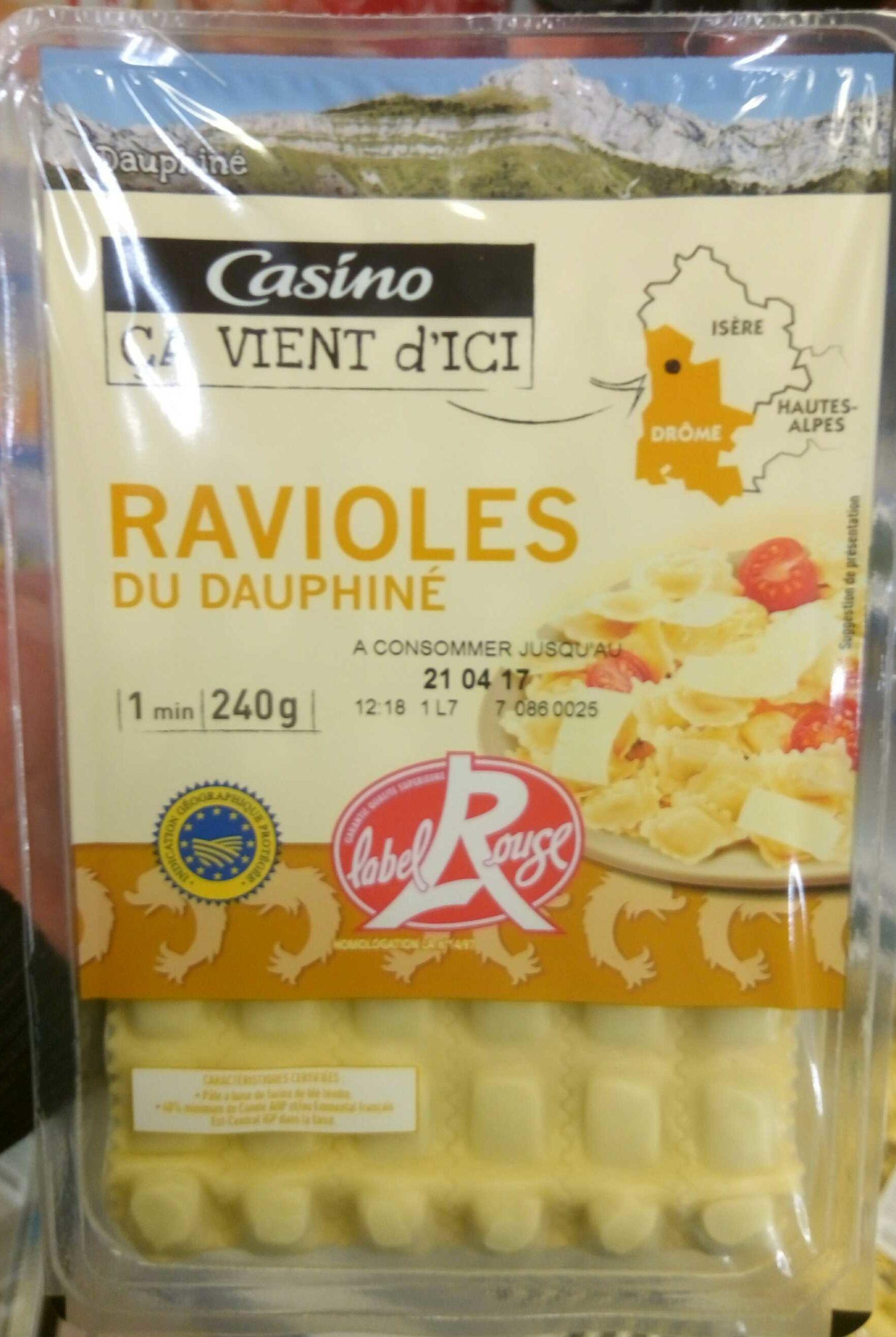 ravioles du Dauphiné IGP Label Rouge - Product