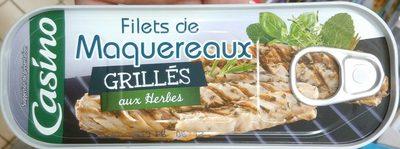 Filets de maquereaux grillés aux herbes - Produit