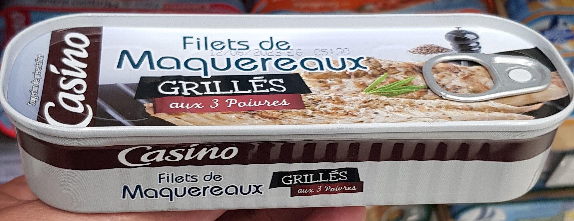 Maquereaux grillés aux 3 poivres - Produit - fr