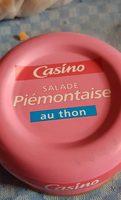 Salade piémontaise au thon - Product