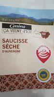 Saucisse sèche d'Auvergne - Product - fr