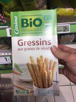 Gressins aux graines de sésame Bio - Product - fr