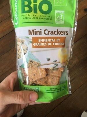 Mini Crackers Emmental Et Graines De Courge - Produit - fr