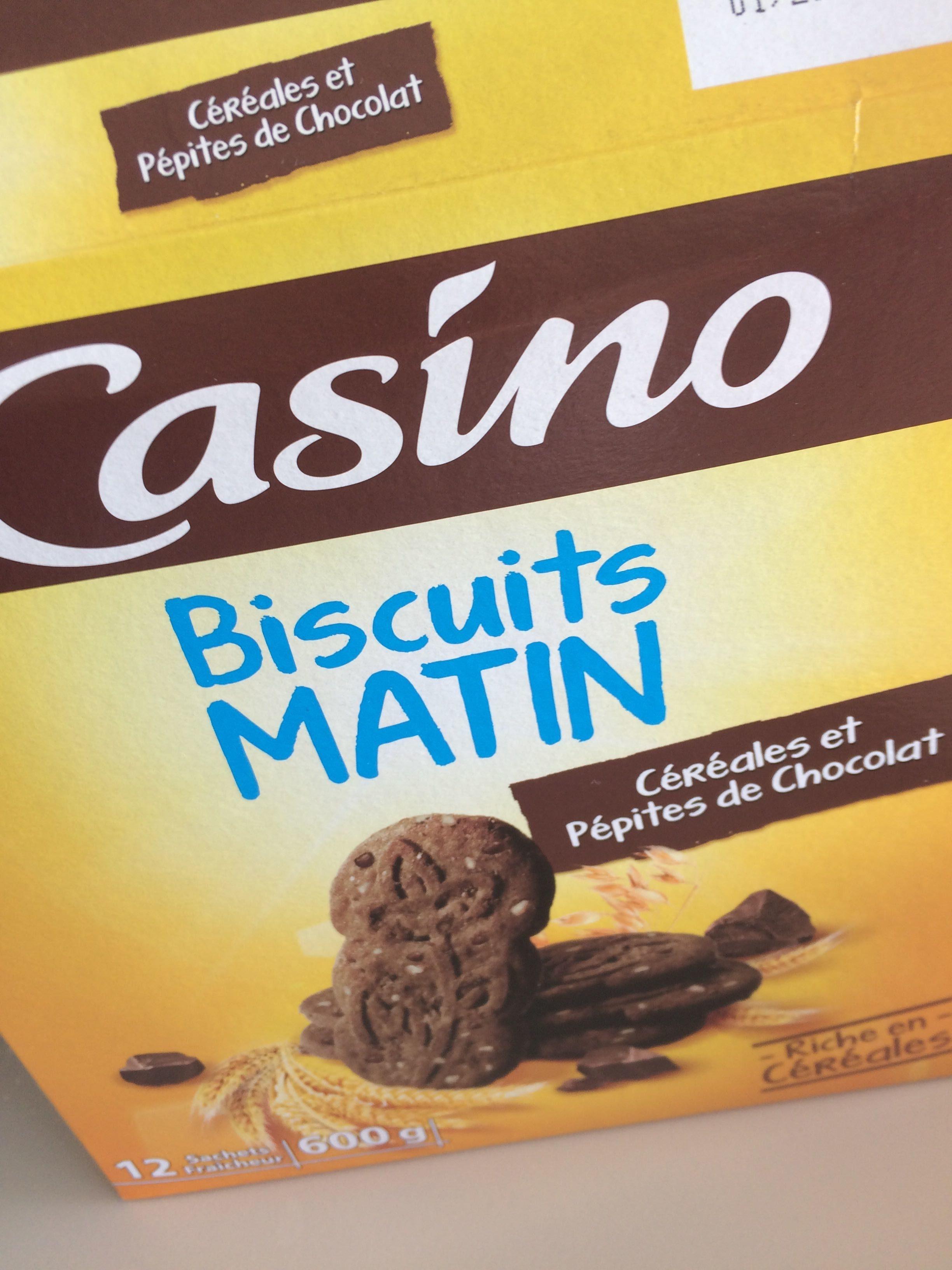 Biscuit matin casino