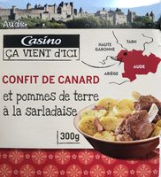Confit de canard et pommes de terre à la sarladaise - Product