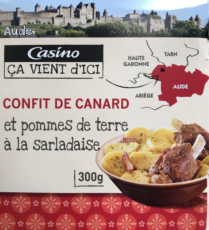 Confit de canard et pommes de terre à la sarladaise - Product - fr