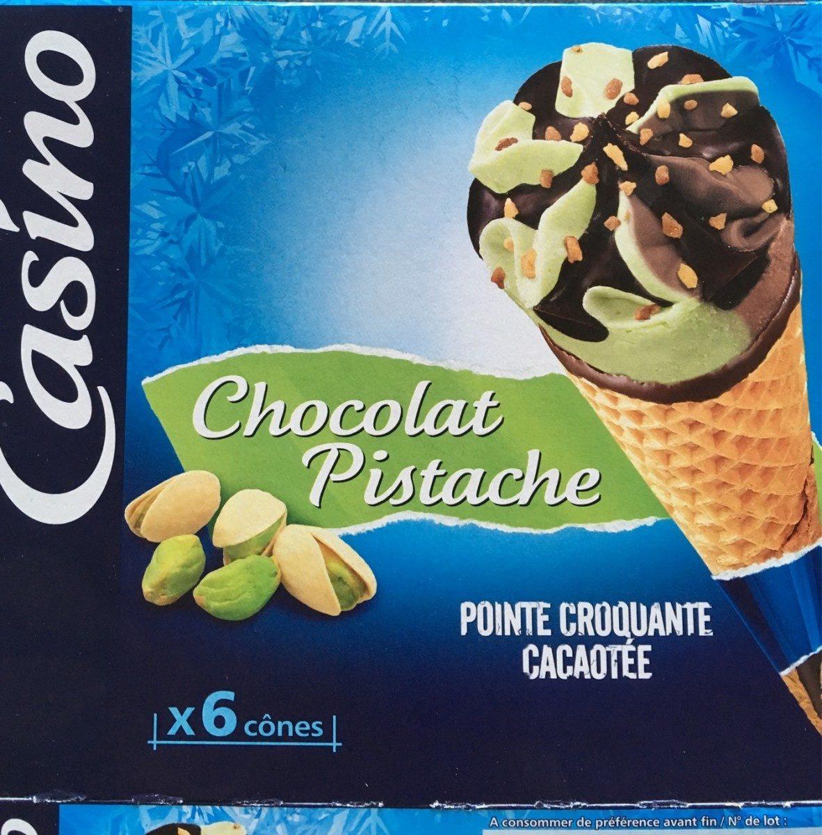 Cônes Chocolat Pistache x6 - Product