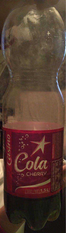 Cola cherry - saveur cerise - Product