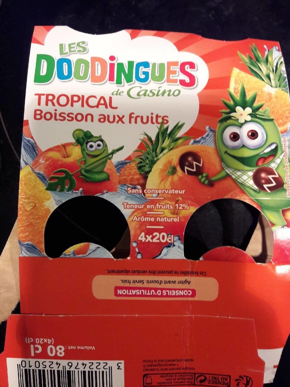 Tropical Boisson aux fruits - Product - fr