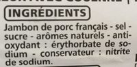 Le Julo - Ingredients