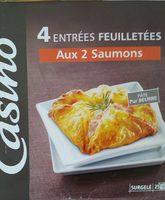 Entrées feuilletées aux 2 saumons - Produit - fr