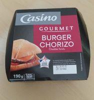 Burger Chorizo Cheddar Fondu - Product