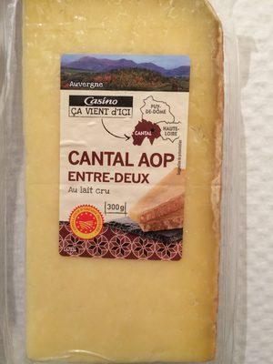 Cantal Entre-Deux au lait cru - Product - fr