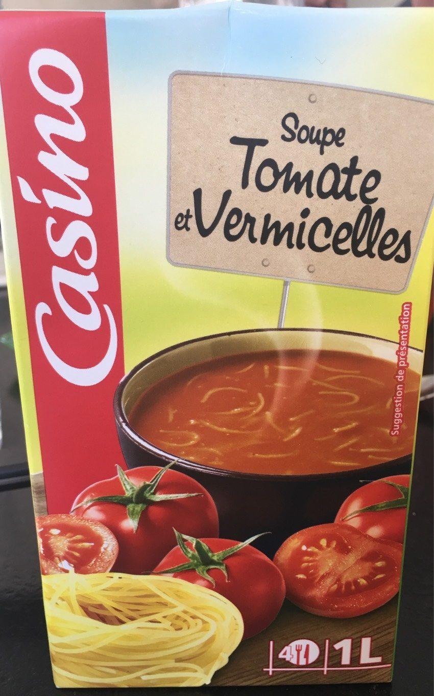 Soupe tomate et vermicelles - Product - fr