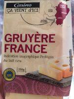 Gruyère Francce - Indication Géographique - au lait cru - Product