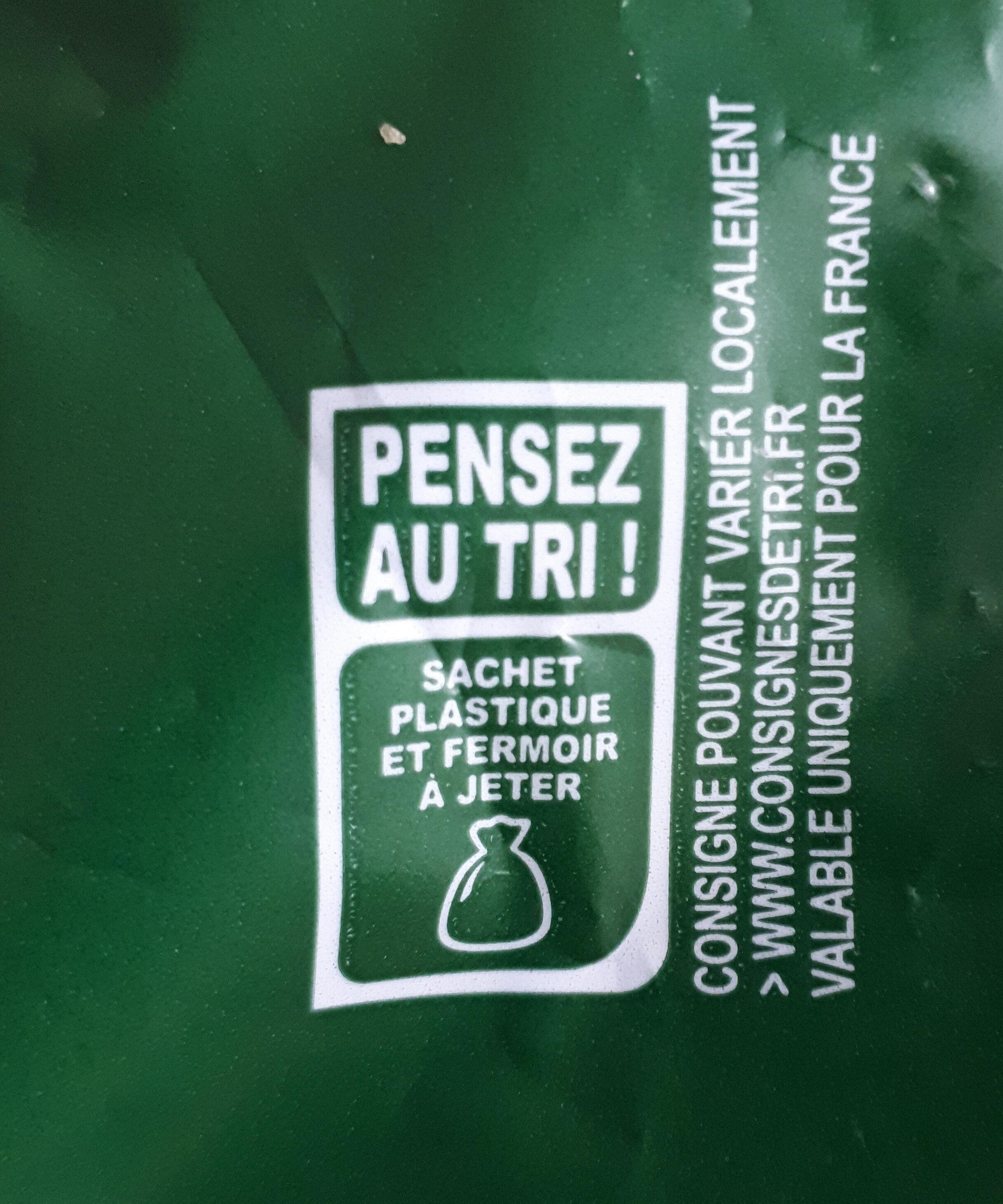 Pain de mie moelleux Céréales et Graines - 14 tranches - Recyclinginstructies en / of verpakkingsinformatie - fr