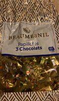 Papillotes 3 chocolats - Produit - fr
