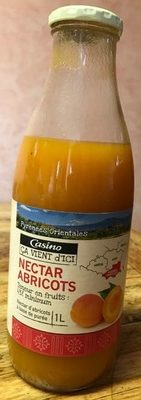 Nectar Abricot -Teneur en fruits : 43% minimum - Product